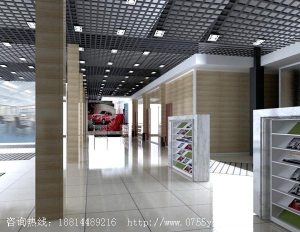 深圳汽车美容店展厅装修设计