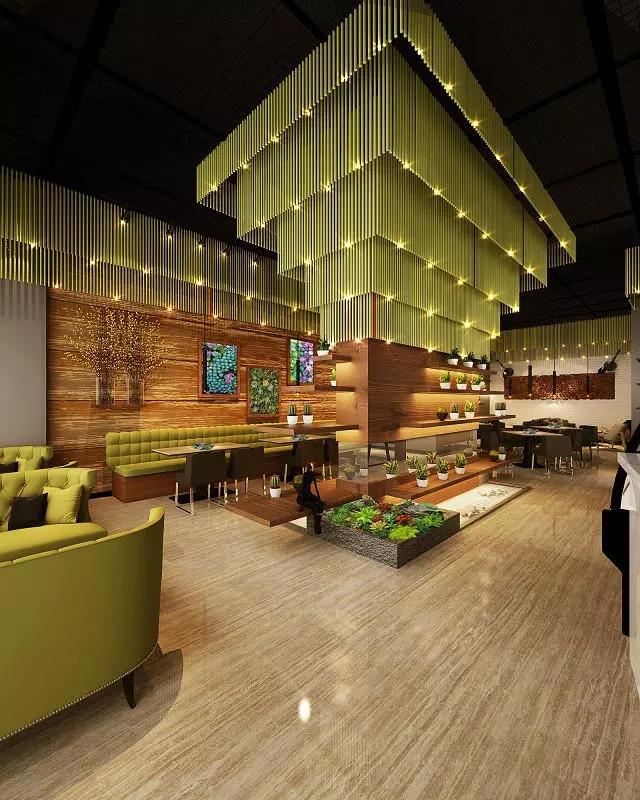 宝安沙井西荟城格林咖啡馆门店设计必威体育苹果app案例图5