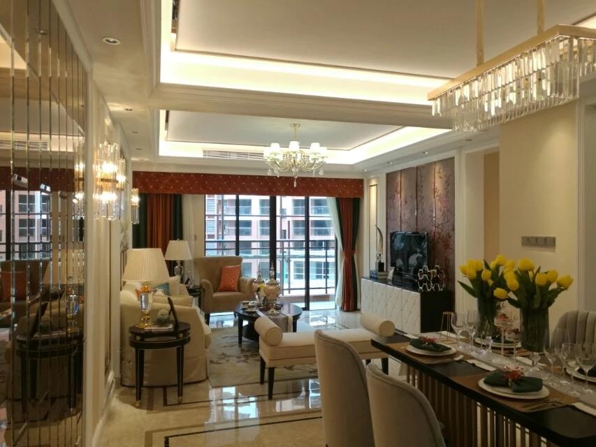 东莞厚街业主别墅样板房设计装修案例图11