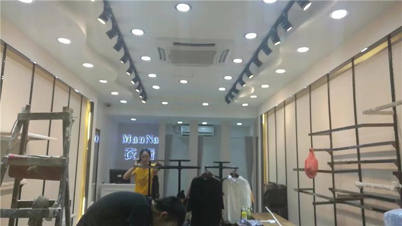 宝安沙井京基百纳广场 衣橱服饰品牌连锁店设计装修案例图1