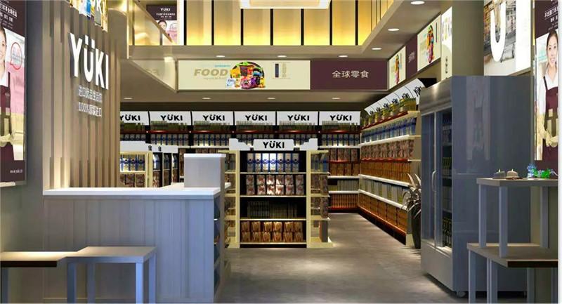 深圳宝安万科1095国际商品专卖店设计装修案例图2