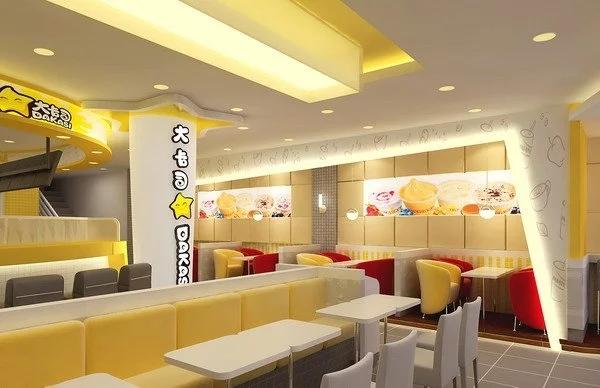 宝安沙井大卡司餐饮品牌店设计装修案例图1