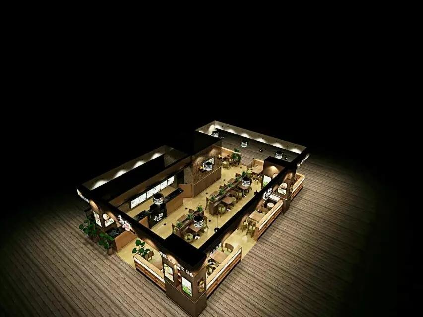 深圳乐汇时尚广场芋观园甜品店设计装修案例图4