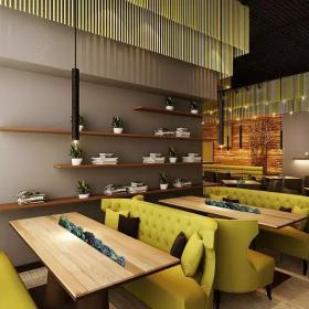 宝安沙井西荟城格林咖啡馆门店设计必威体育苹果app案例