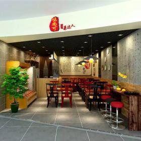 宝安沙井新沙路天虹商场餐饮连锁店设计装修案例