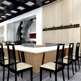必威体育苹果app 下载沙井西荟城全台铁板烧餐厅设计必威体育苹果app案例图
