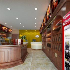 深圳宝安上星烟酒店设计装修案例实景图