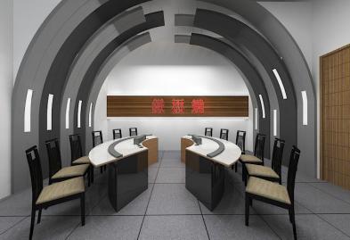 深圳沙井西荟城全台铁板烧餐厅设计装修案例图3