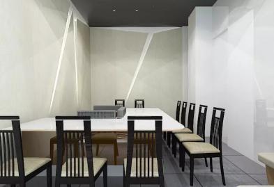 深圳沙井西荟城全台铁板烧餐厅设计装修案例图10
