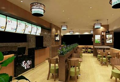 深圳乐汇时尚广场芋观园甜品店设计装修案例图2