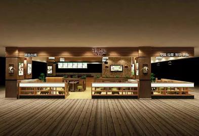 深圳乐汇时尚广场芋观园甜品店设计装修案例图5