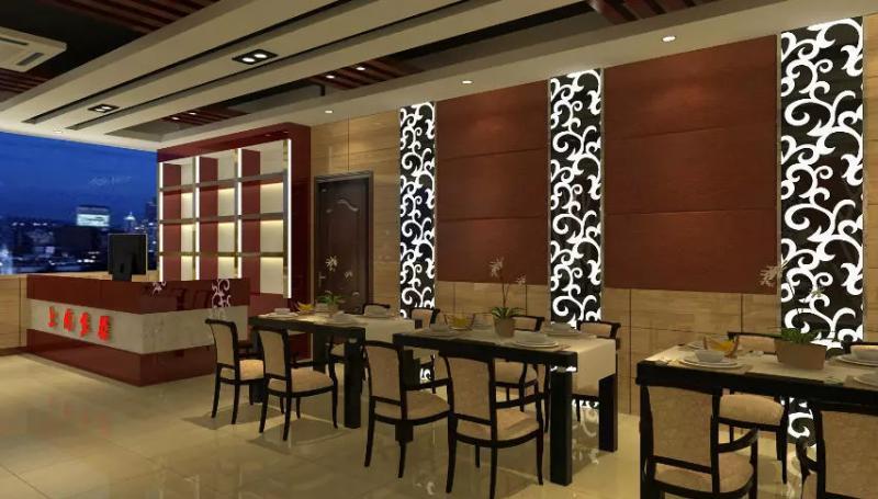 深圳上尚鱼馆餐厅设计装修案例实景图