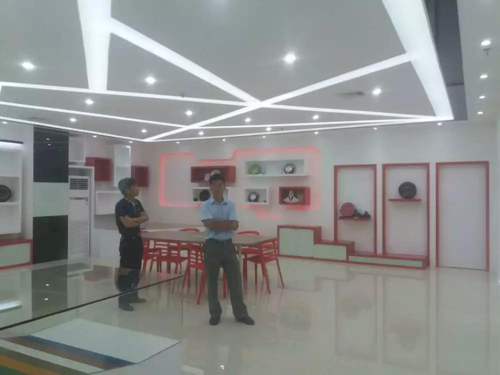 宝安沙井宝乐机器人展厅设计必威体育苹果app案例图1