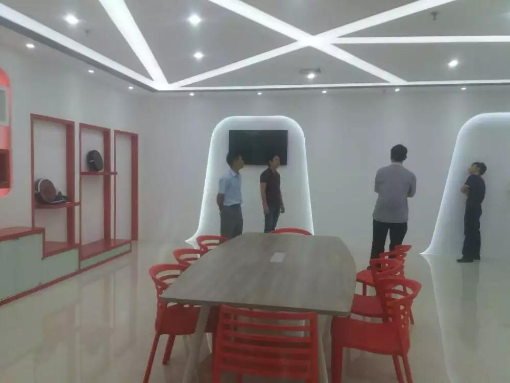 宝安沙井宝乐机器人展厅设计必威体育苹果app案例图3