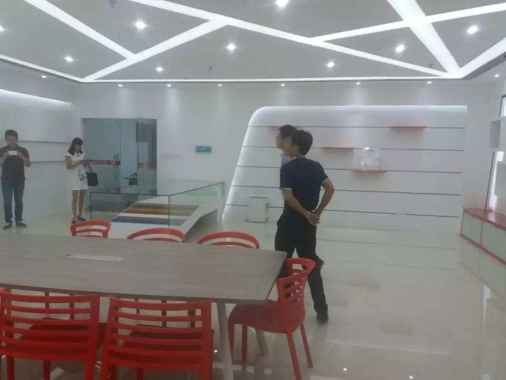宝安沙井宝乐机器人展厅设计必威体育苹果app案例图4