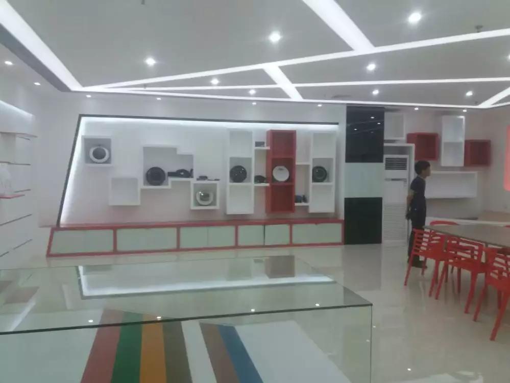 宝安沙井宝乐机器人展厅设计必威体育苹果app案例图5