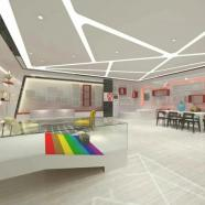 宝安沙井宝乐机器人展厅设计装修案例图