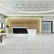 深圳石岩指纹锁展厅装修设计图