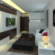 宝安沙井公寓楼设计装修案例实景图