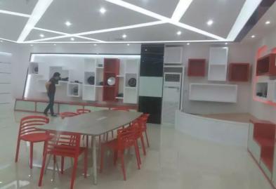 宝安沙井宝乐机器人展厅设计必威体育苹果app案例图2