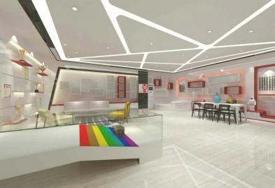 宝安沙井宝乐机器人展厅设计必威体育苹果app案例图7
