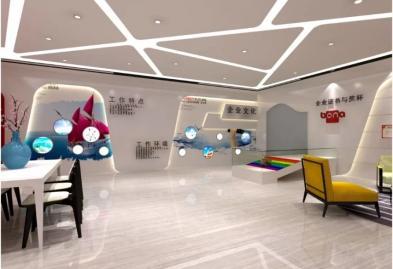 宝安沙井宝乐机器人展厅设计必威体育苹果app案例图9