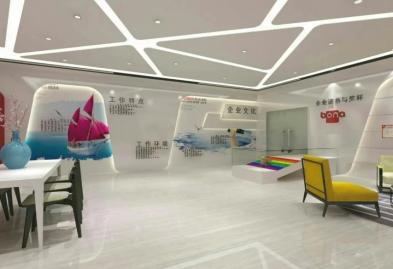 宝安沙井宝乐机器人展厅设计必威体育苹果app案例图8