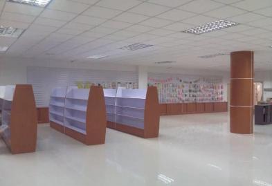 深圳宝安圣诞礼品展柜设计装修案例图2