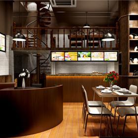 深圳市宝安某餐厅装修设计风格图