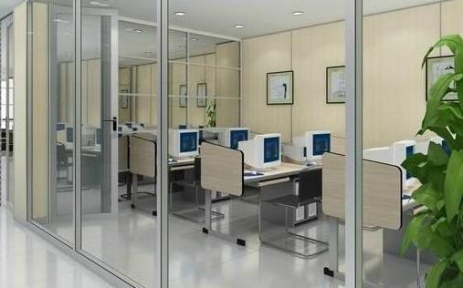 深圳办公室装修  隔断材料
