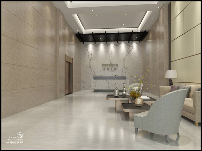 深圳松岗智慧园办公室装修案例实景图