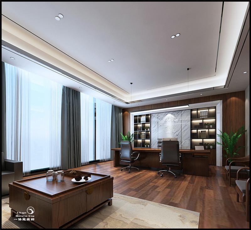 深圳优点金服办公室装修案例实景图