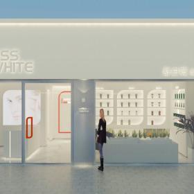 深圳舒白薇全球美白中心设计装修案例