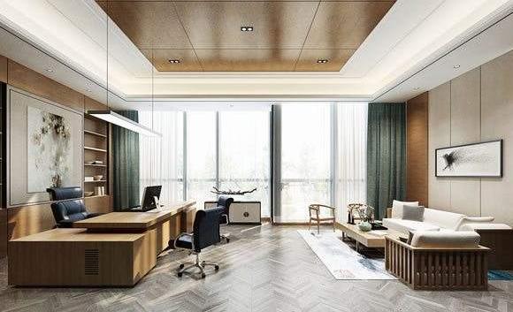 办公室装修:总经理办公室装修设计的原则要点