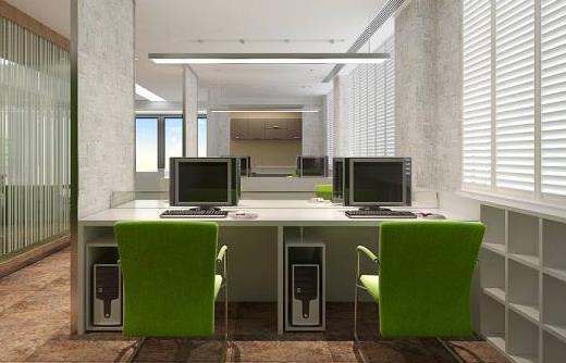 50平米小型办公室装修