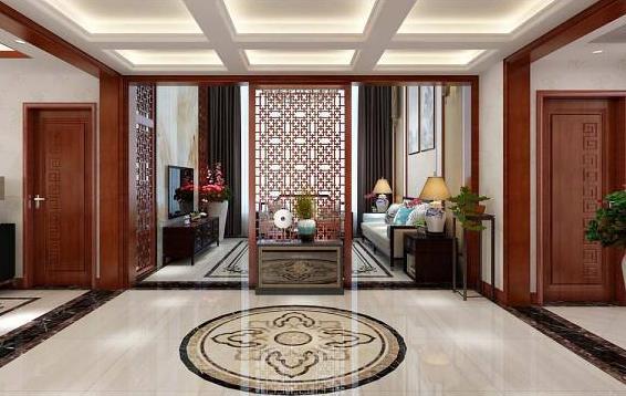 深圳办公室装修 门厅装饰设计风水