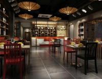 深圳店铺装修 餐饮餐厅门店的设计装饰技巧