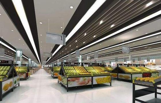 深圳店铺装修 超市设计装饰