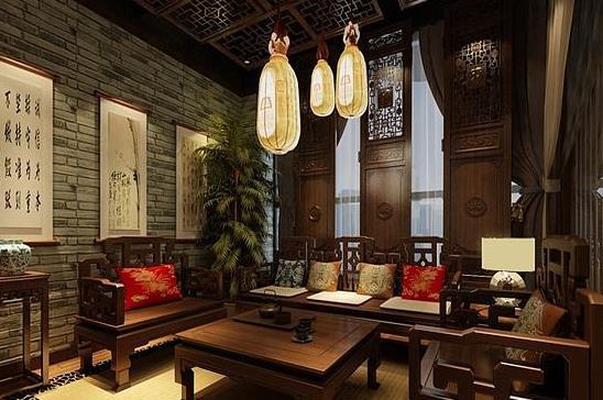 深圳餐厅装修 茶楼设计装饰