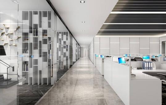 提升墙面效果的办公室装修攻略分享